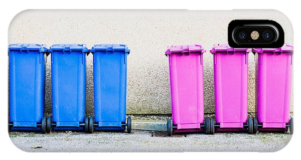 Rubbish Bin iPhone Case - Waste Bins by Tom Gowanlock