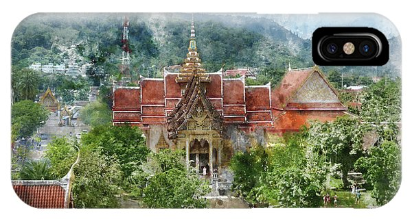 Wat Chalong In Phuket Thailand IPhone Case