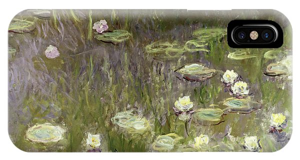 Lily iPhone Case - Waterlilies At Midday by Claude Monet