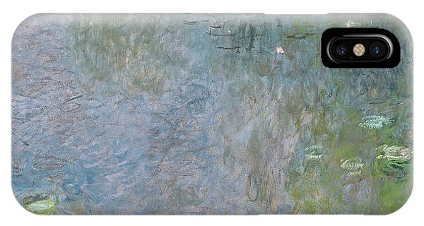 Waterlily iPhone Case - Waterlilies Morning by Claude Monet