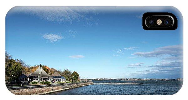 Waterside Restaurant Cafe In Famous Kaivopuisto Park Helsinki Fi IPhone Case