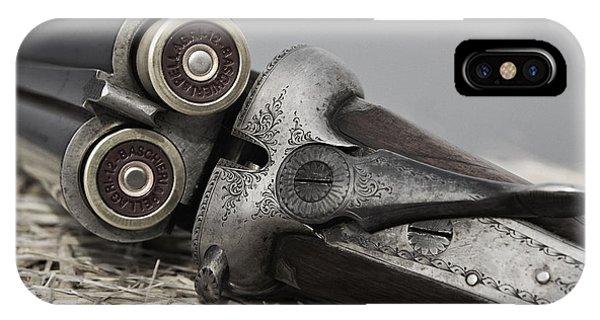 Webley And Scott 12 Gauge - D002721a IPhone Case