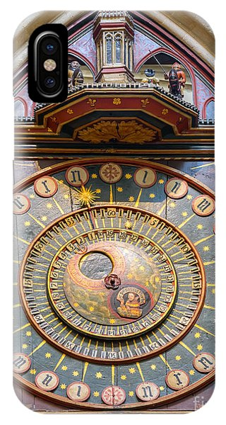 Wells Cathedral Clock IPhone Case