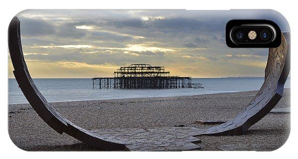 Pier iPhone Case - West Pier Brighton by Smart Aviation