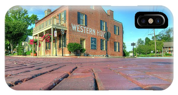 Western House IPhone Case