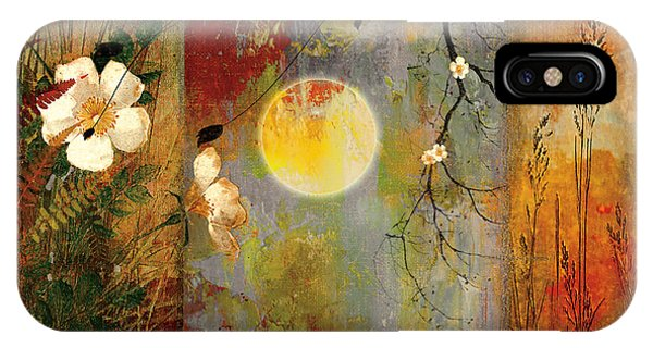 Whisper Forest Moon II IPhone Case