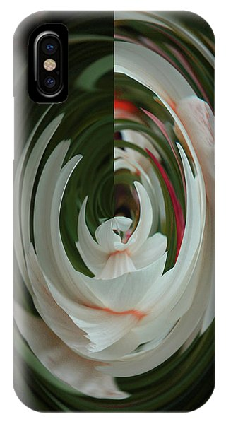White Form IPhone Case