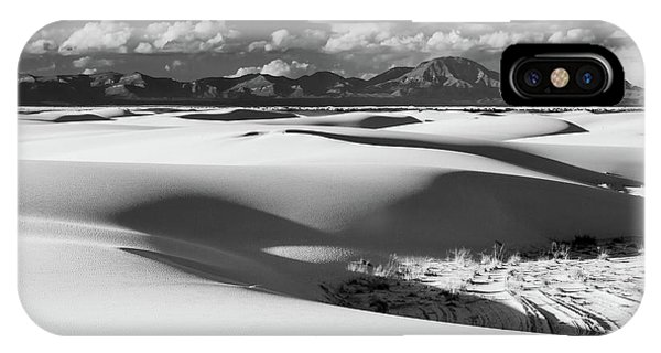 White Sands Afternoon IPhone Case