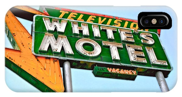 White's Motel IPhone Case