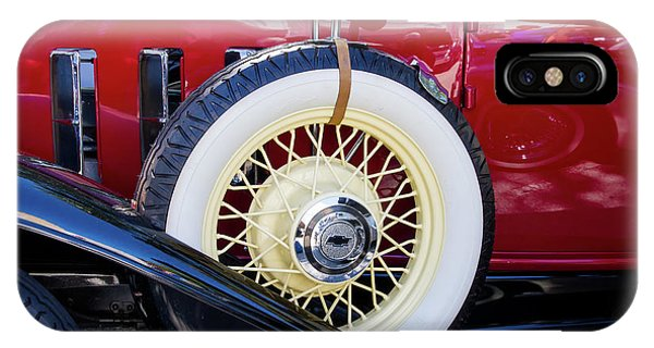 Wide Whitewall Spare Tire IPhone Case