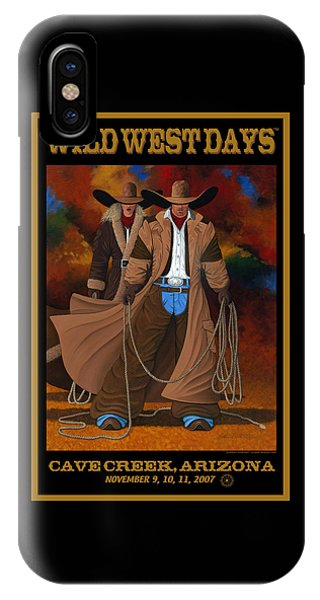 Wild West Days Poster/print  IPhone Case