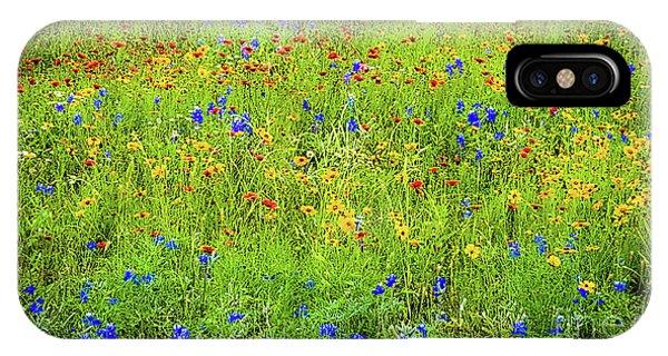 Wildflowers In Bloom IPhone Case