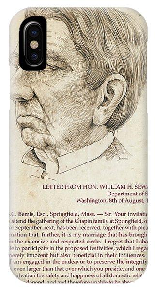 William Seward IPhone Case