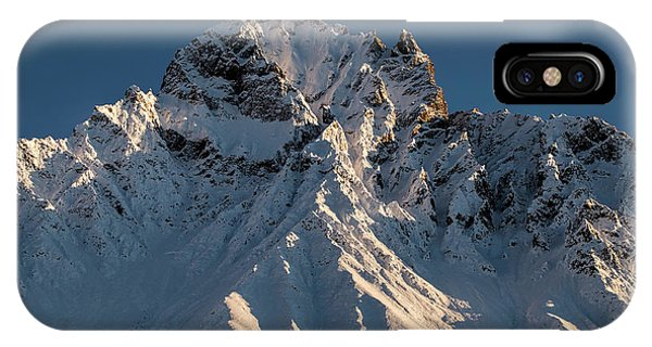 IPhone Case featuring the photograph Williams Peak by Fred Denner