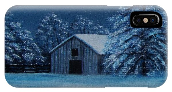Windburg Barn 2 IPhone Case