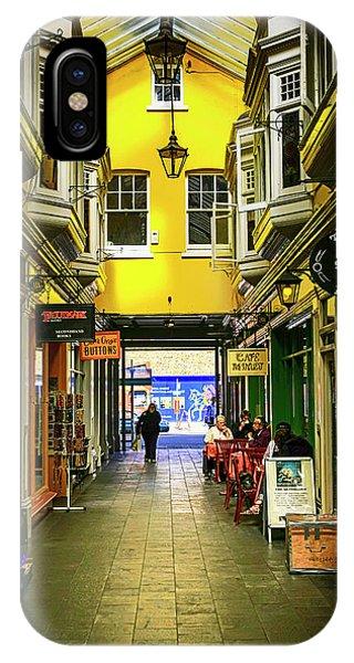 Windham Shopping Arcade Cardiff IPhone Case