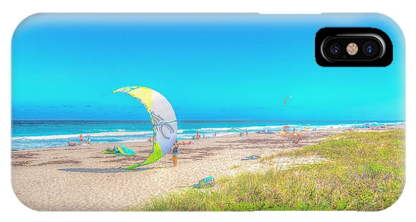Windsurf Beach IPhone Case