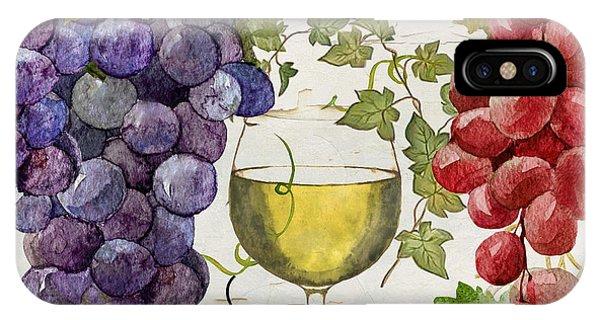 Wines Of Paris II IPhone Case