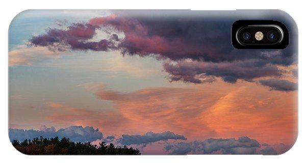 Winnisquam Sunset IPhone Case