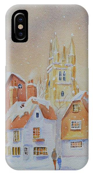 Winter In Tenterden IPhone Case