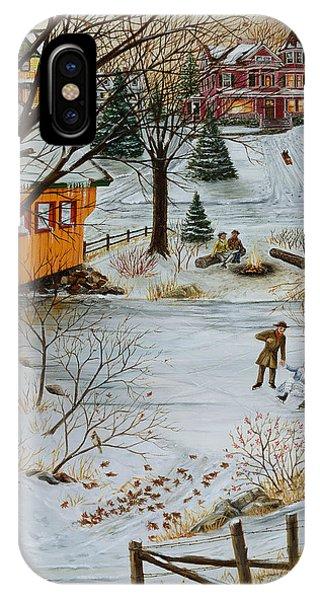 Winter Memories 3 Of 4 IPhone Case