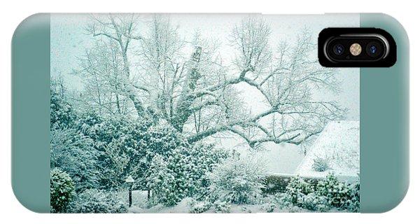 Winter Wonderland In Switzerland IPhone Case