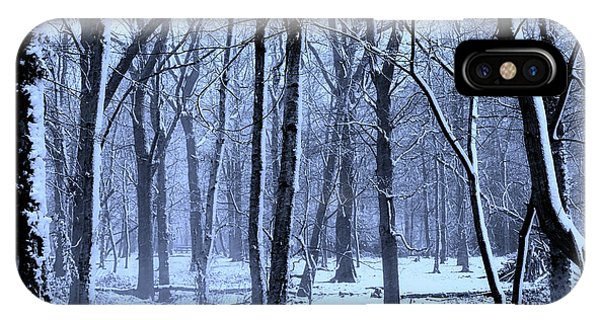 Cold Day iPhone Case - Winter Wonderland by Martin Newman