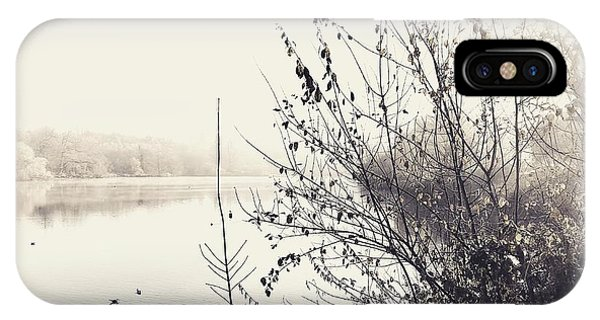 Winter's Morning At The Mote  Phone Case by Stuart Ellesmere