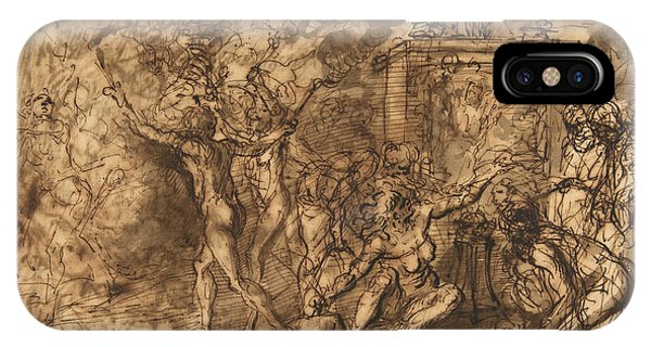 Rosa iPhone Case - Witches' Sabbath by Salvator Rosa