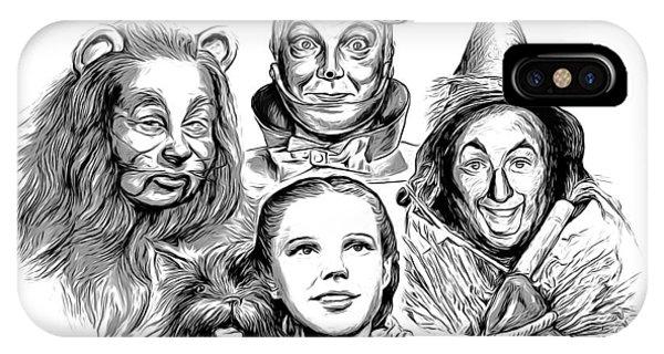 Wizard iPhone Case - Wizard Of Oz by Greg Joens