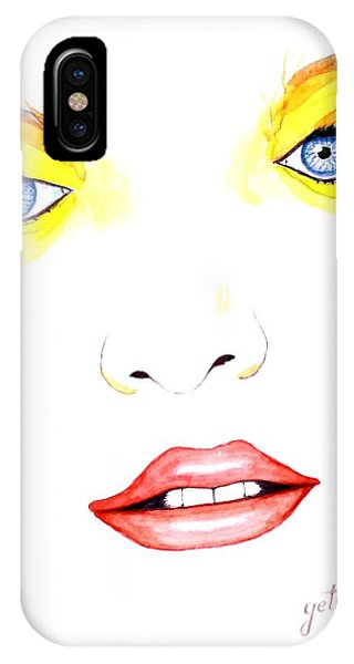 Woman Scent Watercolor Painting IPhone Case