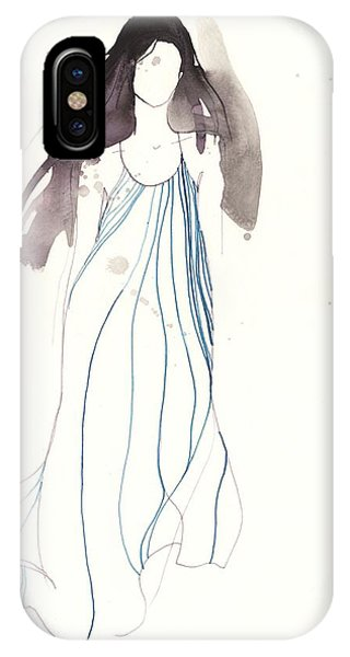 Woman With Dress From Chloe IPhone Case