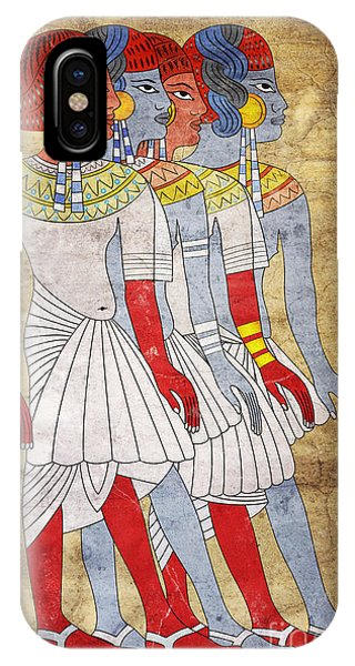 Rare iPhone Case - Women Of Ancient Egypt by Michal Boubin