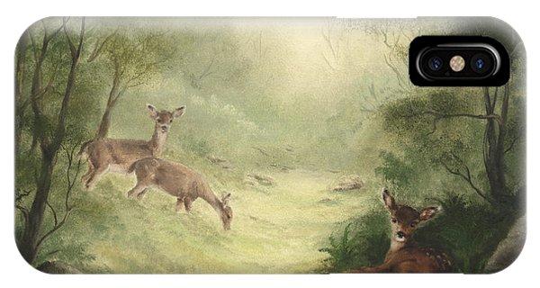 Woodland Surprise IPhone Case