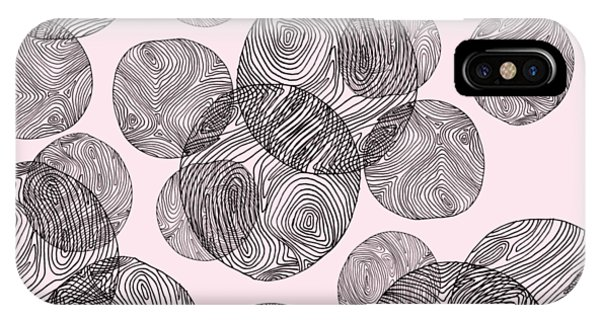Woodprint Pattern IPhone Case