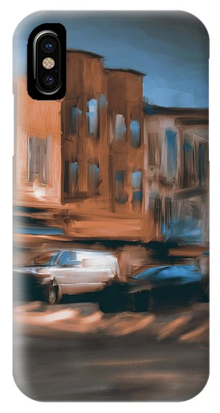 China Town iPhone Case - Yellow Corner China Town Powell by Mawra Tahreem