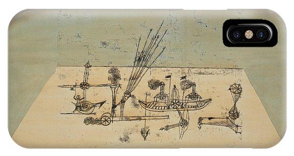 Yellow Harbor IPhone Case