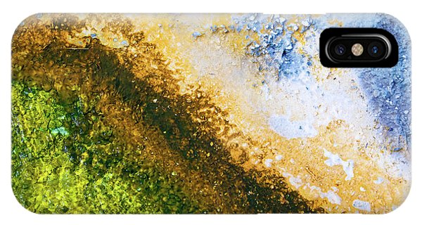 Yellowstone National Park iPhone Case - Yellowstone Abstract by Delphimages Photo Creations