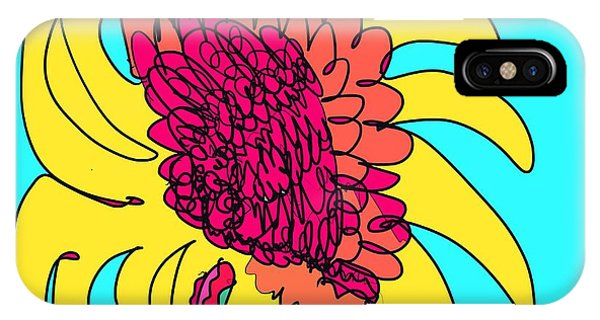 Yes. This Is A Flower, Child IPhone Case