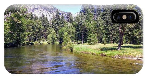 Yosemite Lazy River IPhone Case