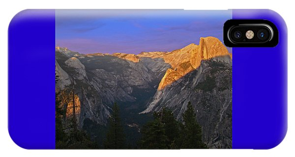 Yosemite Summer Sunset 2012 IPhone Case