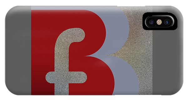 Your Name - B F Or F B Monogram IPhone Case