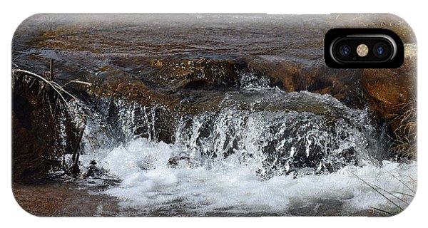 Waterfall Westcliffe Co IPhone Case
