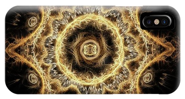 #art #digitalart #fractals Phone Case by Michal Dunaj