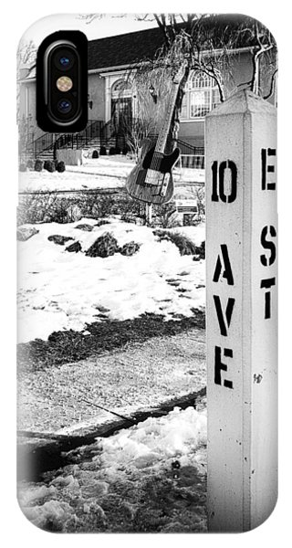 10 Ave And E St Belmar New Jersey IPhone Case
