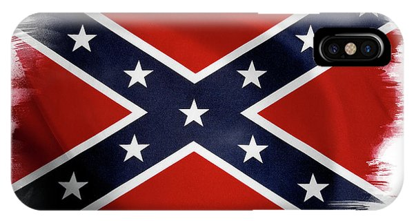 Confederate Flag 10 IPhone Case