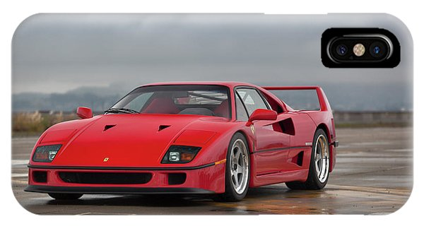 #ferrari #f40 #print IPhone Case