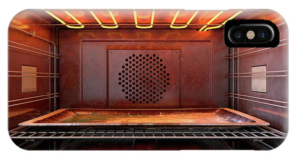 Shelves iPhone Case - Inside The Oven by Allan Swart