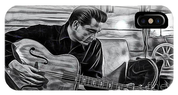 Johnny Cash Collection IPhone Case