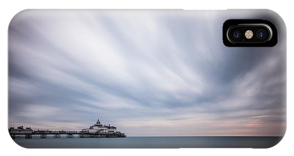 10 Minute Exposure Of Eastbourne Pier IPhone Case